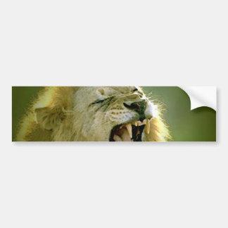 Roaring Lion Bumper Sticker