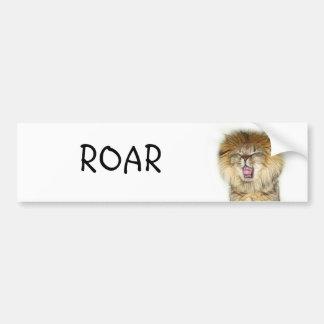 Roaring lion kitten adesivo