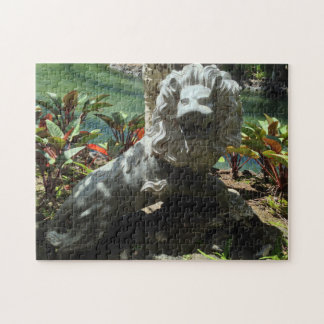 Roaring Lion Statue, Waikoloa, Hawaii Jigsaw Puzzle