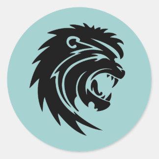 Roaring Lion Stickers