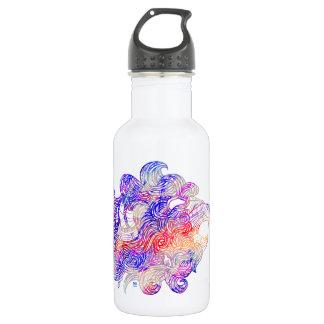 Roaring Sea Lion Intricate illustration 532 Ml Water Bottle