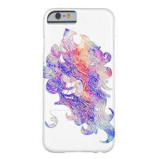 Roaring Sea Lion Intricate illustration Barely There iPhone 6 Case