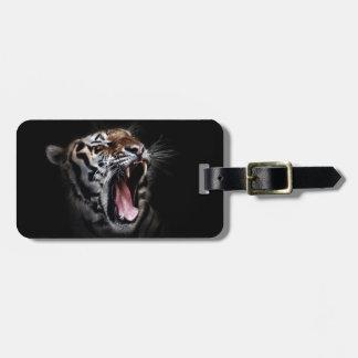 Roaring Tiger Luggage Tag
