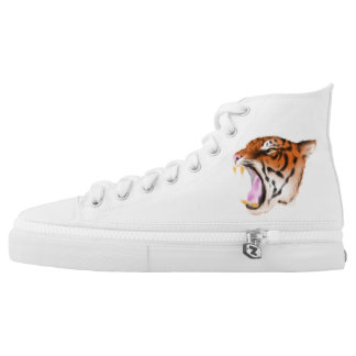 Roaring Tiger Printed Shoes