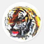 Roaring Tiger Sticker