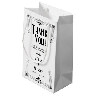 Roaring Twenties Art Deco Wedding Welcome Bag