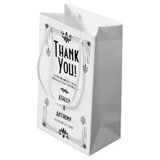 Roaring Twenties Art Deco Wedding Welcome Bag Small Gift Bag