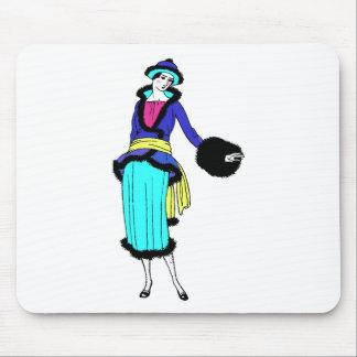 roaring twenties fashion mouse pads