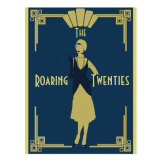 Roaring Twenties Postcard