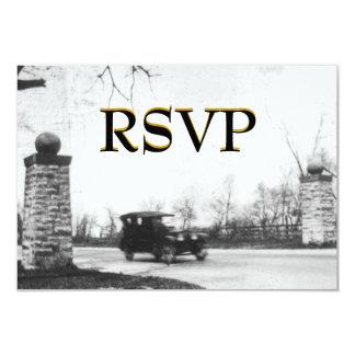 Roaring Twenties RSVP Enclosure with envelope Card