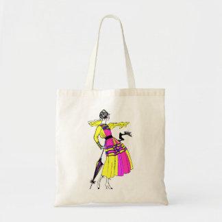 roaring twenties style tote bags