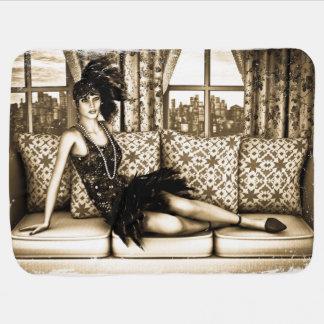 Roaring Twenties Stroller Blanket