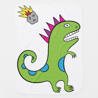 Roary the T-Rex Baby Blanket