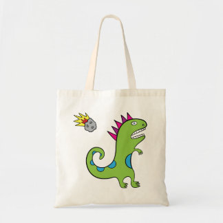 Roary the T-Rex budget tote bag