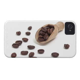roast coffee beans with scoop Case-Mate iPhone 4 cases