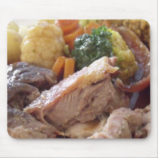 Roast Dinner Mouse Pad