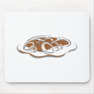 Roast with onions mousepad