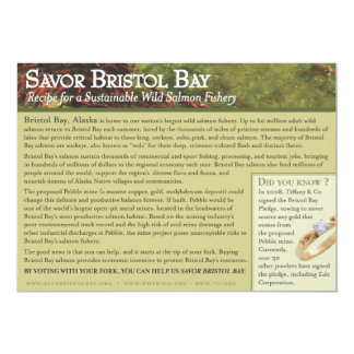 Roasted Bristol Bay Salmon Recipe Card
