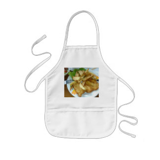 Roasted Chicken Breasts With Fried Potatoes Kids Apron