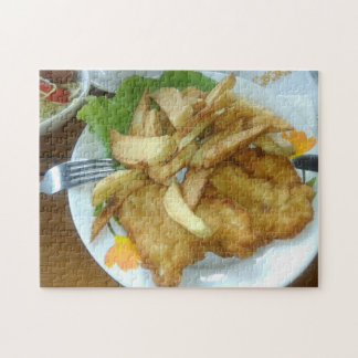 Roasted Chicken Breasts With Fried Potatoes Puzzle