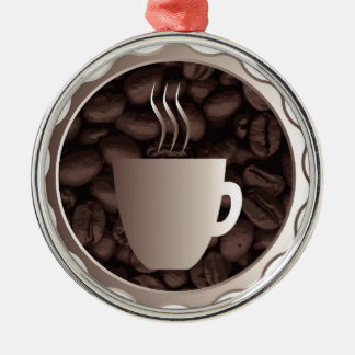 Roasted Coffee Cup Sign Christmas Ornament
