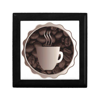 Roasted Coffee Cup Sign Gift Box