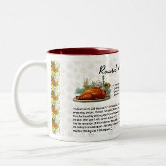 Roasted Rosemary Turkey Coffee Mugs