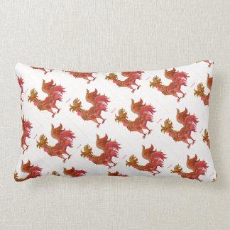 Roaster Throw Pillow