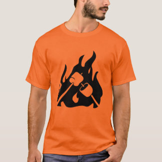 Roasting Marshmallows T-Shirt