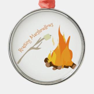 Roasting Marshmellows Christmas Ornament