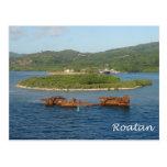Roatan, Honduras Postcard