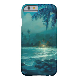 Rob Kaz iPhone 6 case, Beach Campfire Barely There iPhone 6 Case