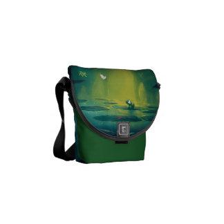 Rob Kaz Mini Messenger Bag, Enchantment Commuter Bag