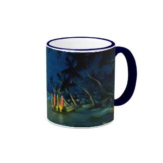 Rob Kaz Mug, Stories, colored handle Ringer Mug