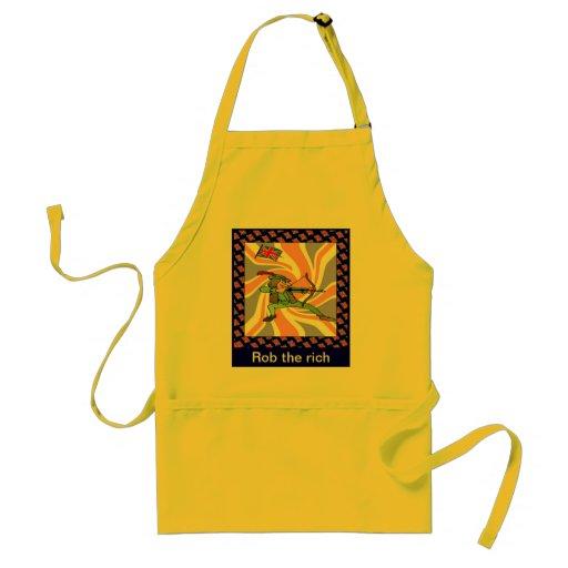 Rob the rich apron