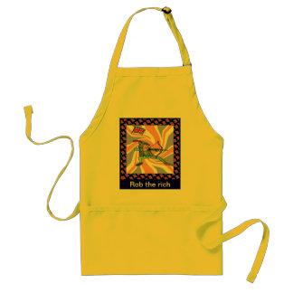 Rob the rich standard apron