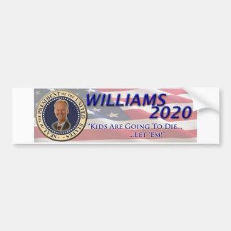 Rob Williams 2020 Car Bumper Sticker