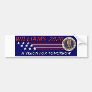 Rob Williams 2020 Vision for Tomorrow Bumper Sticker