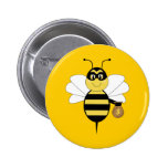 RobBee Bumble Bee Button