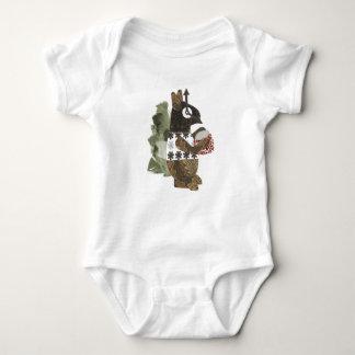 Robber Squirrel Babygro Baby Bodysuit