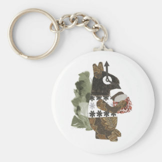 Robber Squirrel Keyring Key Chains