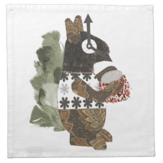 Robber Squirrel Napkins