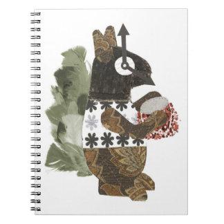 Robber Squirrel Notebook