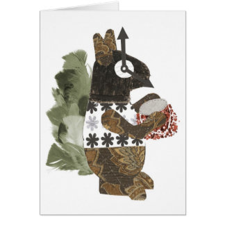 Robber Squirrel Notecard