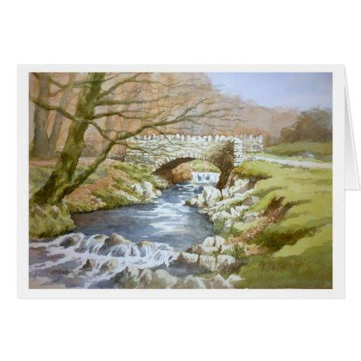 Robbers Bridge, Exmoor Greeting Cards