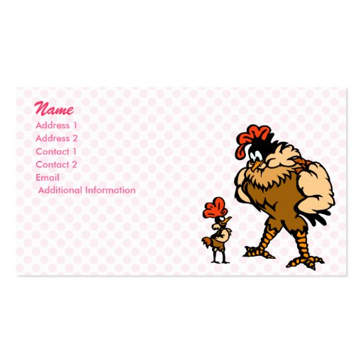 Robbey Rooster Business Card Template