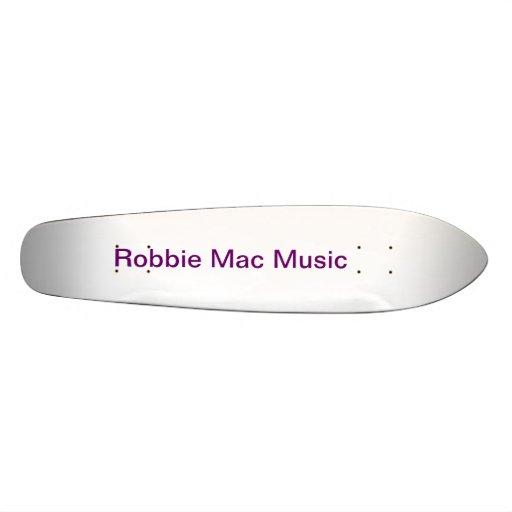 Robbie Mac official Skate Board (Old School Style)