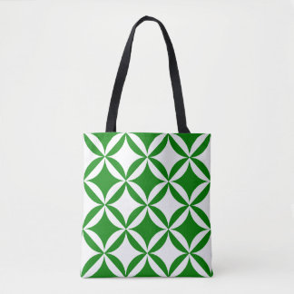 Robbing Peter to Pay Pual Green Pattern Tote Bag