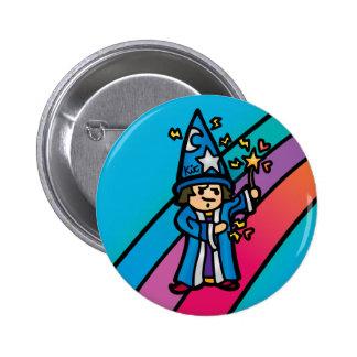 robe flair. 6 cm round badge