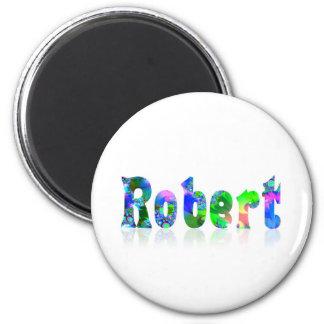Robert 6 Cm Round Magnet